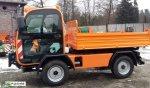 Pojazd specjalistyczny AUSA M250 HX4 komunalny terenowy unimog