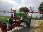 Opryskiwacz ciągany, hydrauliczny na trapezie, AGROFART 2300l AF2315HT