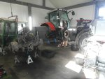 Naprawa massey ferguson case renault deutz new holland claas john deere