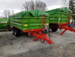 Przyczepa rolnicza T663/2 TANDEM